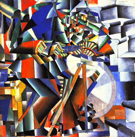 The Knifegrinder, Kazimir Malevich, 1912