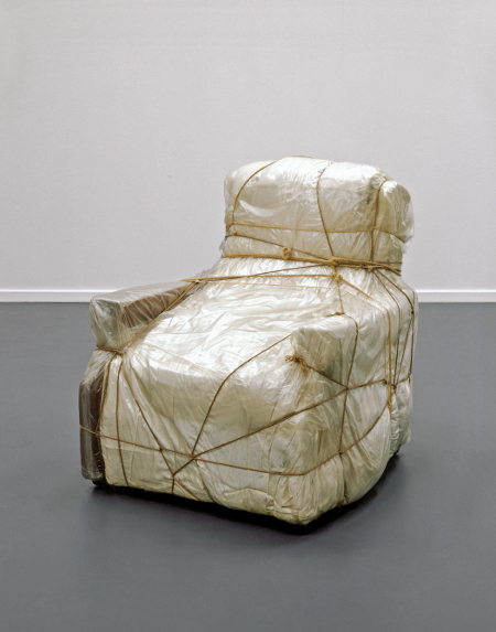 Wrapped Armchair 1964-65