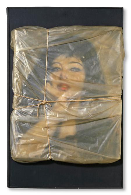 Wrapped Portrait of Jeanne-Claude 1963