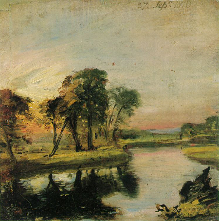 A View on the Stour, 1810