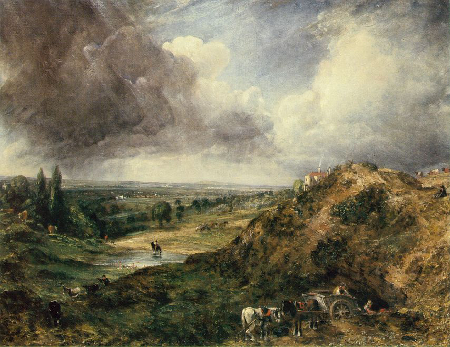 Branch Hill Pond, Hampstead Heath, 1828