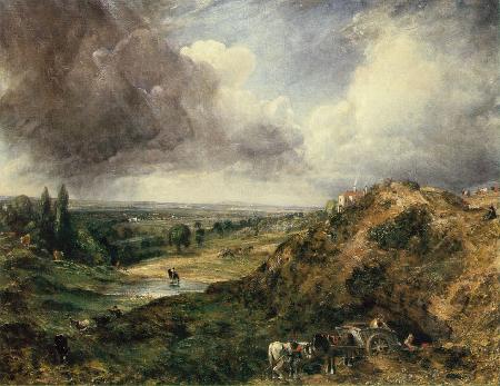 Branch Hill Pond, Hampstead Heath, 1828
