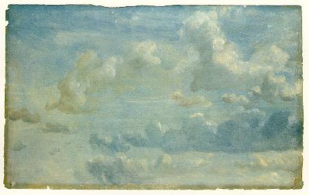 Cloud Study, 1822