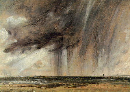 Rainstorm off the Coast at Brighton, c. 1824-28