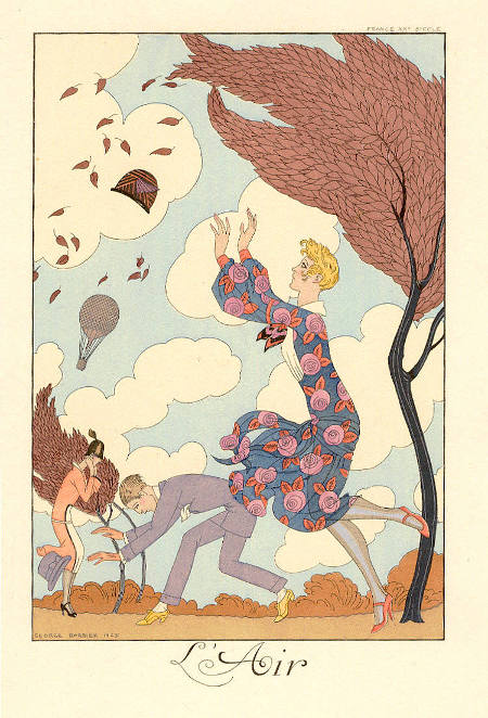Georges Barbier, L'Air