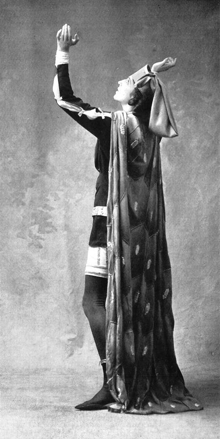 Ida Rubinstein as St Sebastien