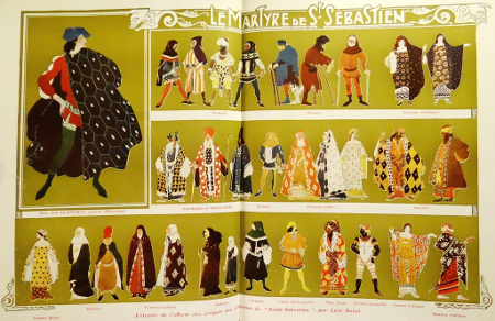 Leon Bakst-Costume Designs