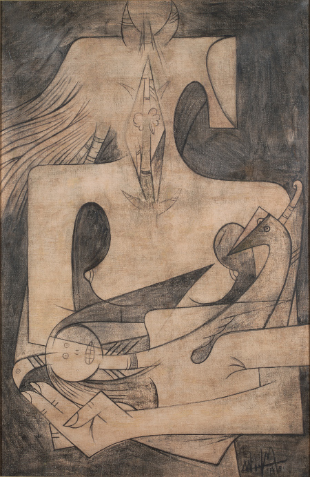 Wifredo Lam - La Maternidad - 1951