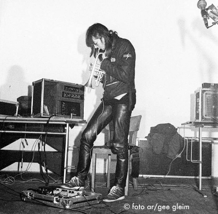 Cosey with Throbbing Gristle, Berlin, 1980