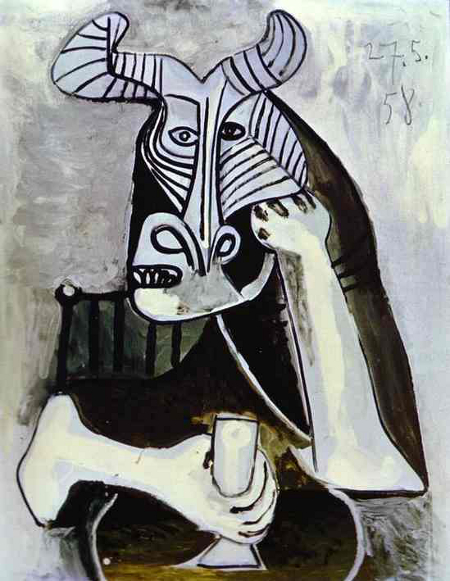 Pablo Picasso, The King of the Minotaurs, 1958