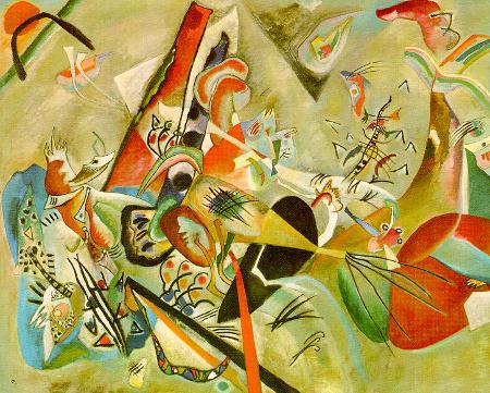 Wassily Kandinsky, In Gray, 1919