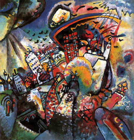 Wassily Kandinsky, Moscow I, 1916
