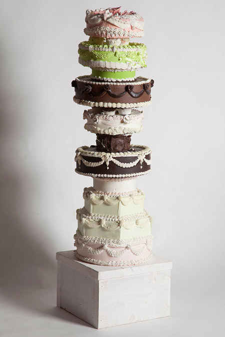 Will Cotton, Cake Tower, 2010