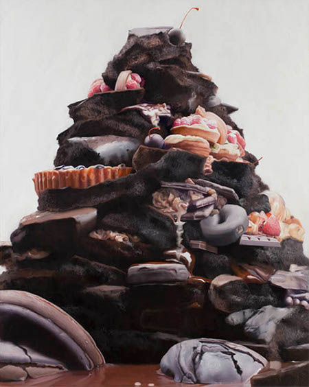 Will Cotton, Trash Pile, 2012
