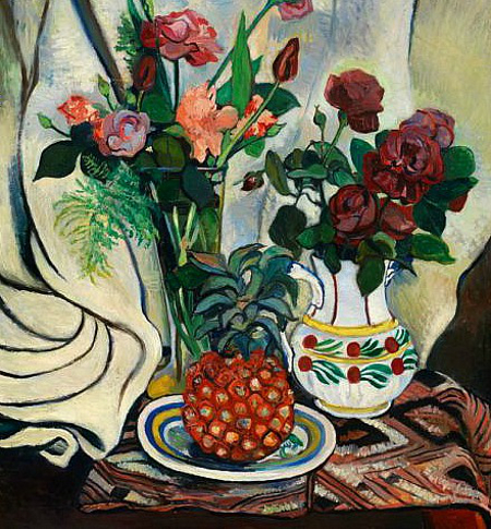 Nature morte à l'ananas, 1922