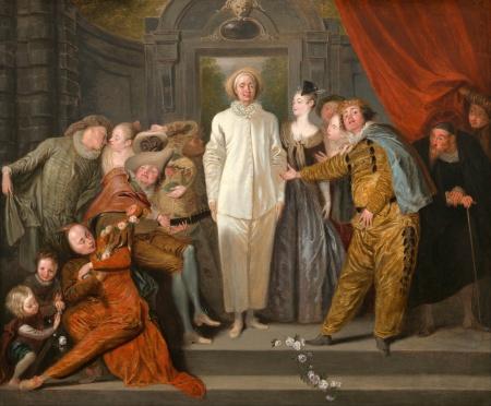 Antoine Watteau, The Italian Comedians, 1721