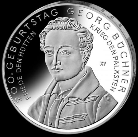 Georg Buchner Coin