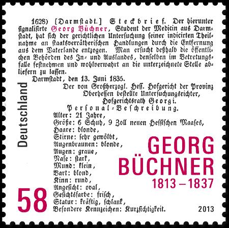 Georg Buchner Stamp