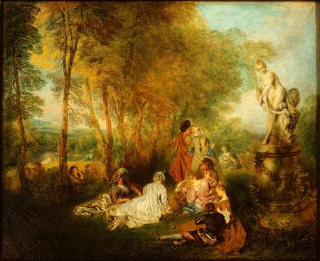 La fête de l'amour, c. 1719, Dresden