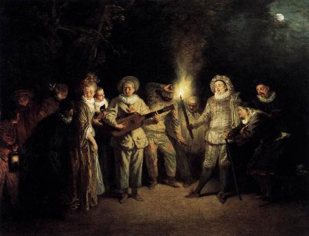 L'amour au théâtre italien, c. 1718