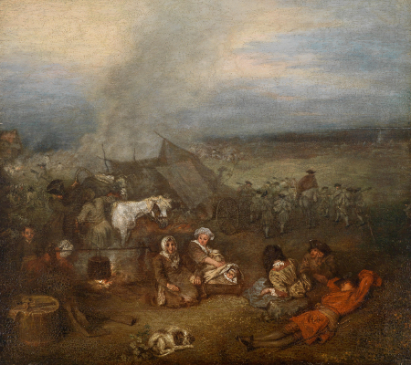 L'Escorte d'équipage, c. 1715