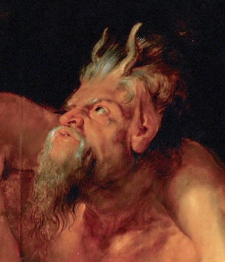 Peter Paul Rubens, The Drunken Hercules, 1611 (detail)