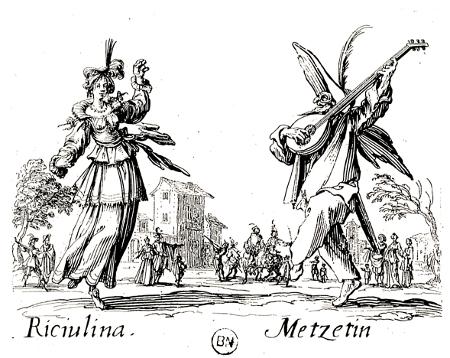 Riciulina et Metzetin, c. 1621
