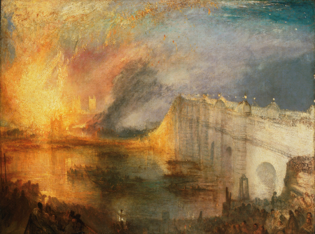 The Burning of the Houses of Lords and Commons, 1834 (Philadelphia)