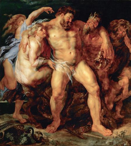 The Drunken Hercules, 1611