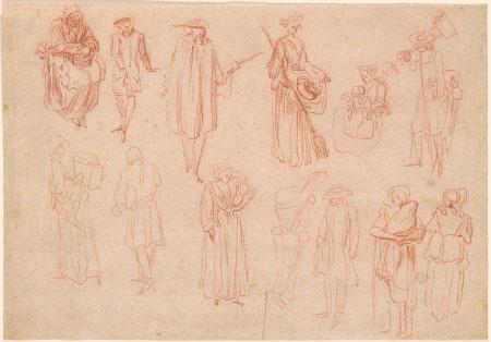 Thirteen Figure Studies