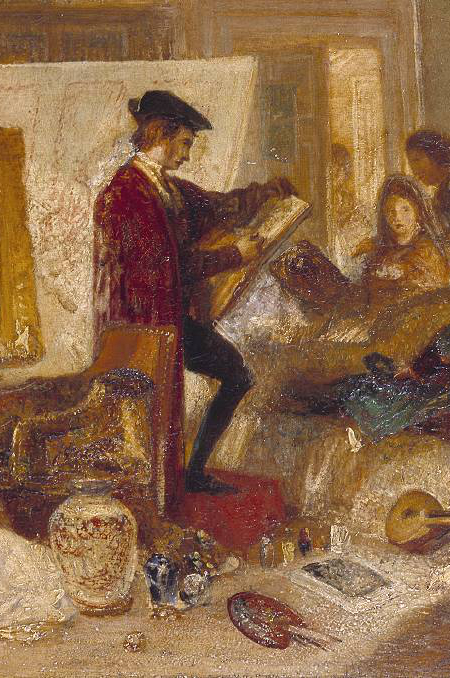 Watteau Study by Fresnoy's Rules, c. 1831-detail