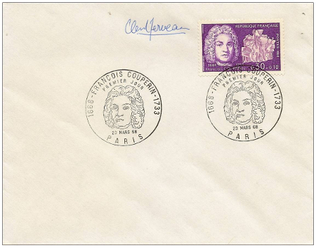 Couperin First Day Cover