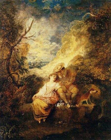 Le voleur du nid de moineau, c. 1712