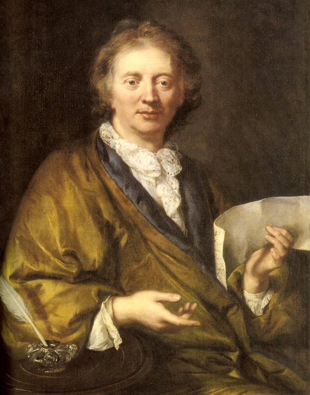 Portrait of Francois Couperin