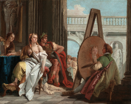 Alexander the Great and Campaspe in the Studio of Apelles, c. 1740