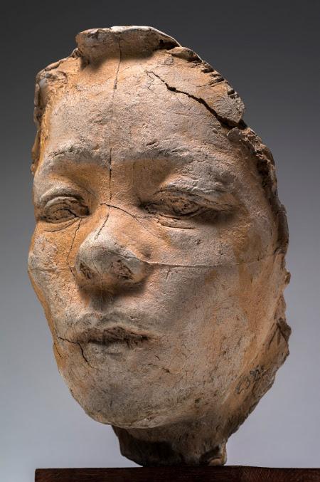 Auguste Rodin, Mask of Hanako, Type E, 1907-10, Musee Rodin