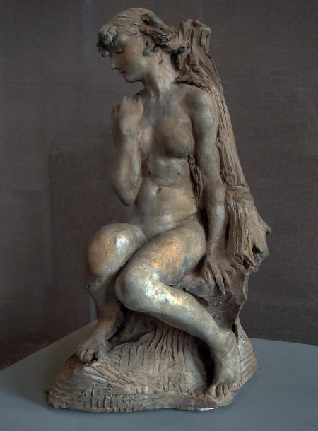 Camille Claudel, Jeune fille à la gerbe, avant 1887