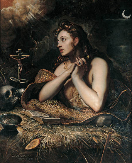 Magdalena penitente, 1598-1602, Capitoline Museum