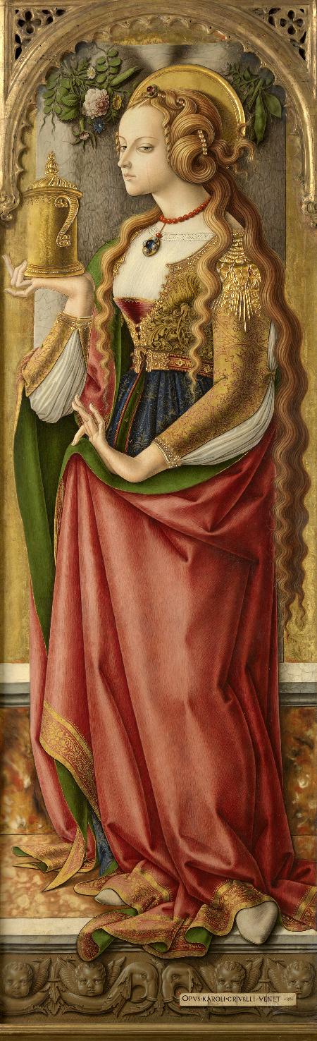 Maria Magdalena, c. 1480-87, Rijksmuseum