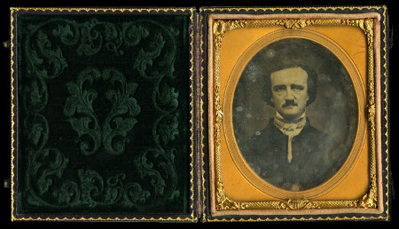 Anon, Portrait of Edgar Allan Poe, 1848, American Antiquarian Soc