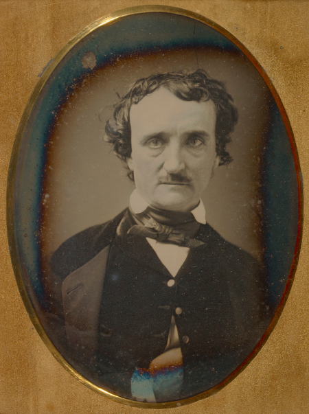 Anon, Portrait of Edgar Allan Poe, late May - early June 1849, J. Paul Getty Museum-a