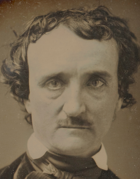 Anon, Portrait of Edgar Allan Poe, late May - early June 1849, J. Paul Getty Museum-b