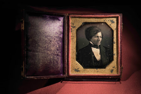 Anon, Portrait of Frederick Douglass, 1848, Chester Co Hist Soc