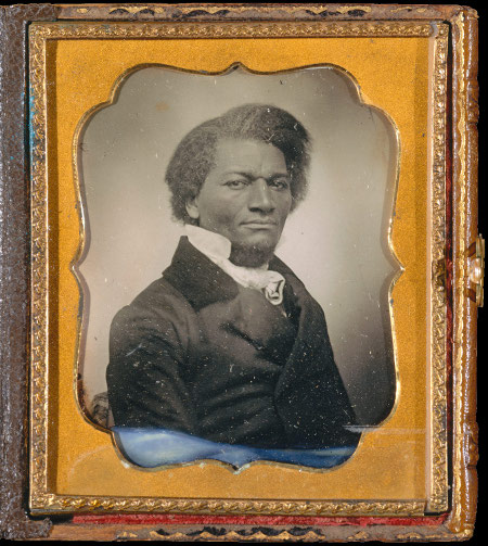 Anon, Portrait of Frederick Douglass, c. 1855, Met