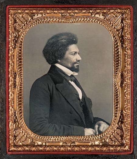 Anon, Portrait of Frederick Douglass, c. 1855, Nelson