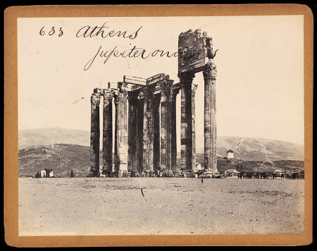 F. Frith & Co., Temple of Olympian Zeus, c. 1850s-1870s, V&A
