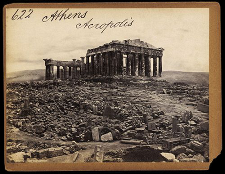 F. Frith & Co., The Acropolis 1850-1870s, V&A
