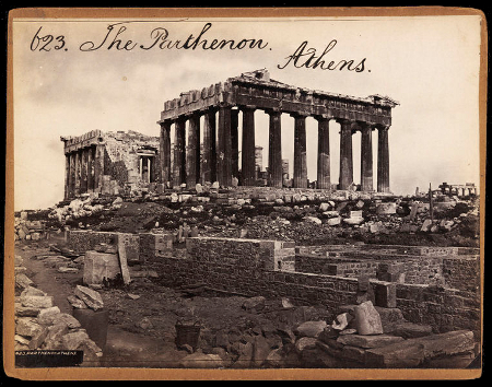 F. Frith & Co., The Parthenon, c. 1850s-1870s, V&A