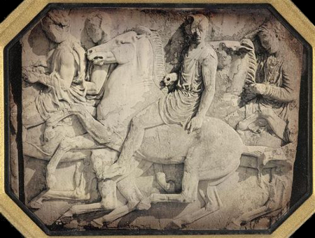Jean-Baptiste-Louis Gros, Detail of the Parthenon Frieze, North Side, 1850, Mus. d'Orsay.