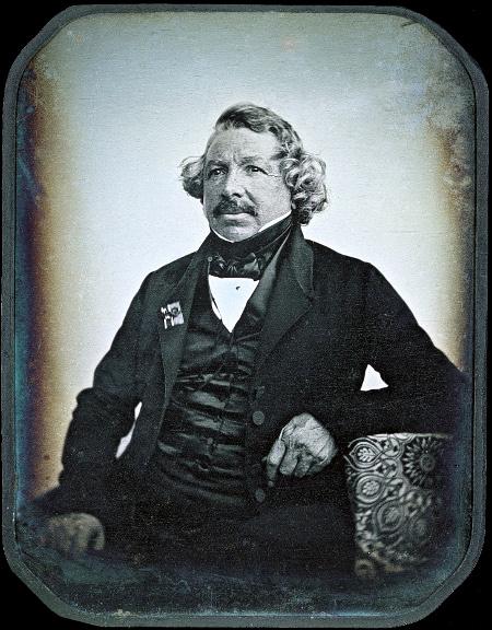 Jean-Baptiste Sabatier-Blot, Portrait of Louis Daguerre, 1844